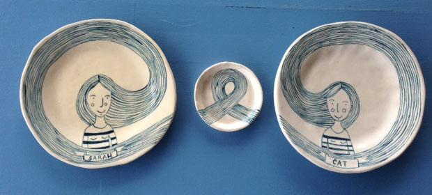 Olivia Villet plates