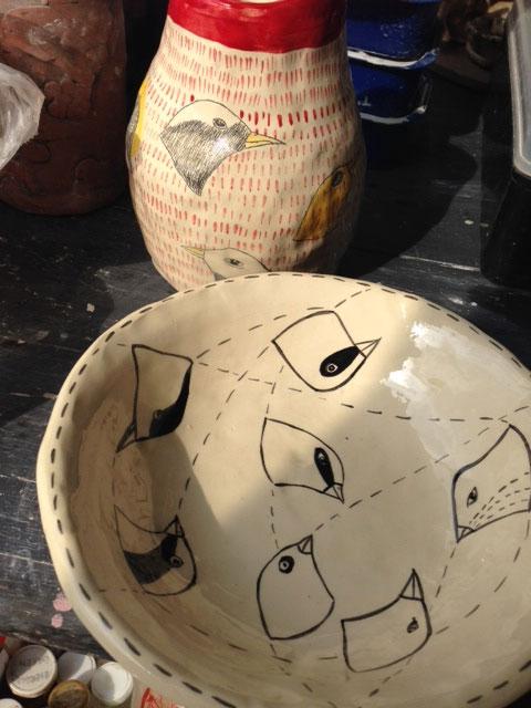Olivia Villet ceramics