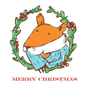 Christmas Fox Olivia Villet