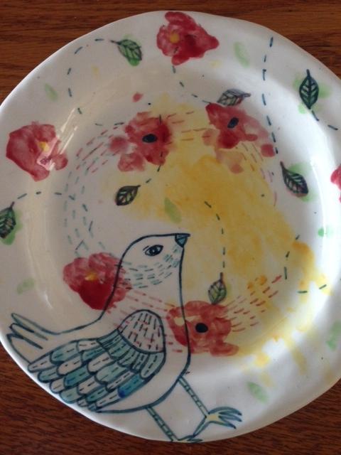 Olivia Villet plate
